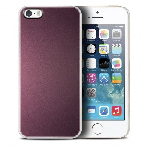 Qdos® Smoothies Racing Case Purple for iPhone 5/5S