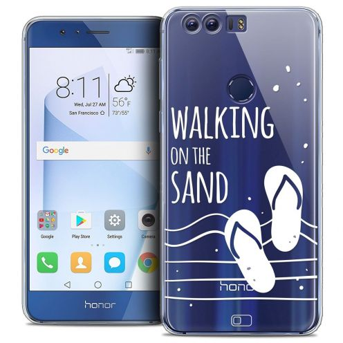 "Coque Crystal Gel Huawei Honor 8 (5.2"") Extra Fine Summer - Walking on the Sand"
