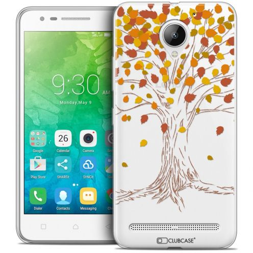 "Coque Crystal Gel Lenovo C2 K10A40 (5"") Extra Fine Autumn 16 - Tree"