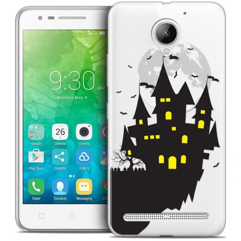 "Coque Crystal Gel Lenovo C2 K10A40 (5"") Extra Fine Halloween - Castle Nightmare"