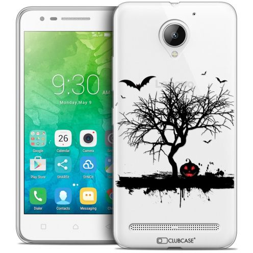 "Coque Crystal Gel Lenovo C2 K10A40 (5"") Extra Fine Halloween - Devil's Tree"