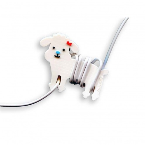 Headphones cable winder Monopoly Chihuahua