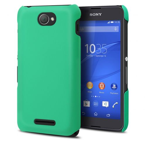 Muvit Soft Touch case for XPeria E4 - Green