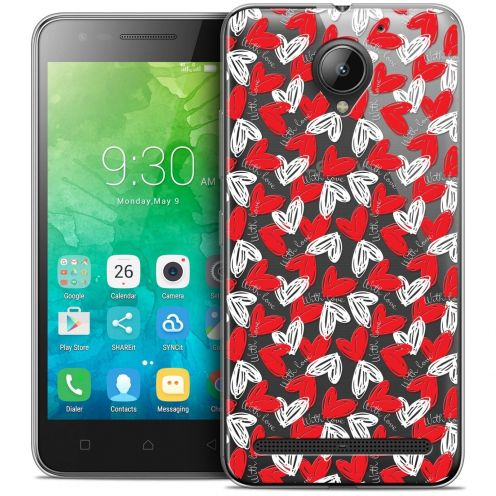 """Coque Crystal Gel Lenovo C2 K10A40 (5"""") Extra Fine Love - With Love"""