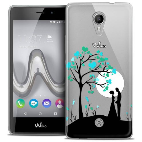 """Coque Crystal Gel Wiko Tommy (5"""") Extra Fine Love - Sous l'arbre"""