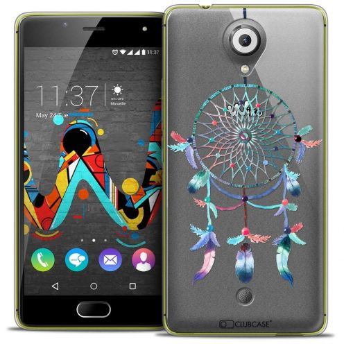 "Coque Crystal Gel Wiko U Feel (5"") Extra Fine Dreamy - Attrape Rêves Rainbow"
