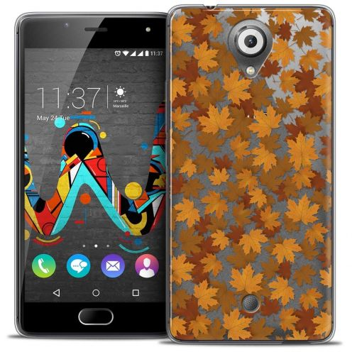 "Coque Crystal Gel Wiko U Feel (5"") Extra Fine Autumn 16 - Feuilles"