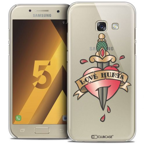 Coque Crystal Samsung Galaxy A5 2017 (A520) Extra Fine Tatoo Lover - Love Hurts