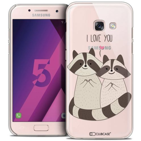 Extra Slim Crystal Samsung Galaxy A5 2017 (A520) Case Sweetie Racoon Love