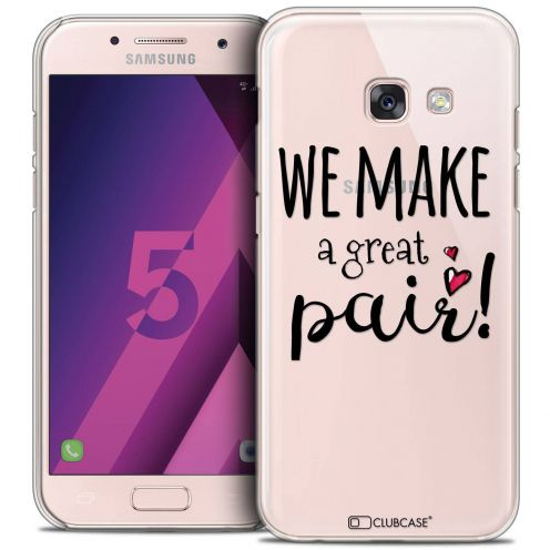 Extra Slim Crystal Samsung Galaxy A5 2017 (A520) Case Love We Make Great Pair