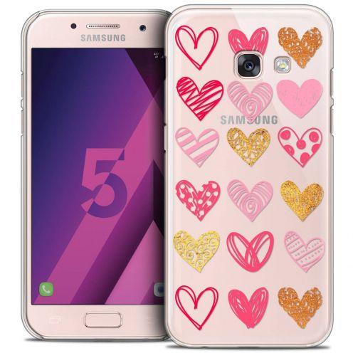 Coque Crystal Samsung Galaxy A5 2017 (A520) Extra Fine Sweetie - Doodling Hearts