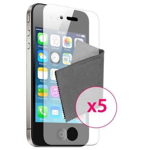 Clubcase ® Mirror HQ screen protector for iPhone 4/4S 5-Pack