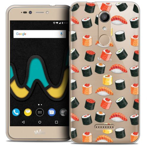 "Coque Crystal Gel Wiko U Pulse LITE (5.2"") Extra Fine Foodie - Sushi"