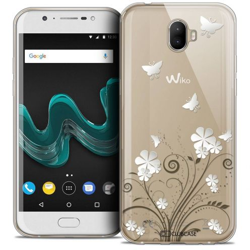 "Coque Crystal Gel Wiko Wim (5.5"") Extra Fine Summer - Papillons"