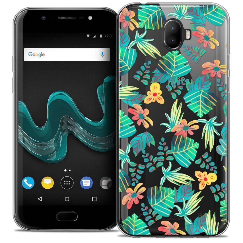 """Coque Crystal Gel Wiko Wim (5.5"""") Extra Fine Spring - Tropical"""