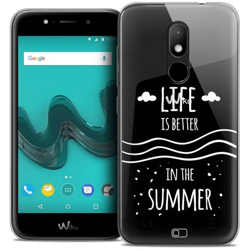 "Coque Crystal Gel Wiko Wim LITE (5.0"") Extra Fine Summer - Life's Better"