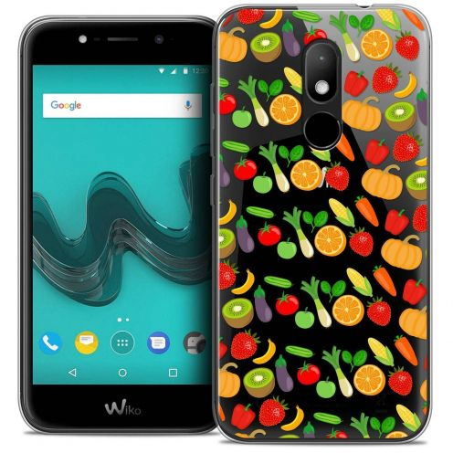 "Coque Crystal Gel Wiko Wim LITE (5.0"") Extra Fine Foodie - Healthy"