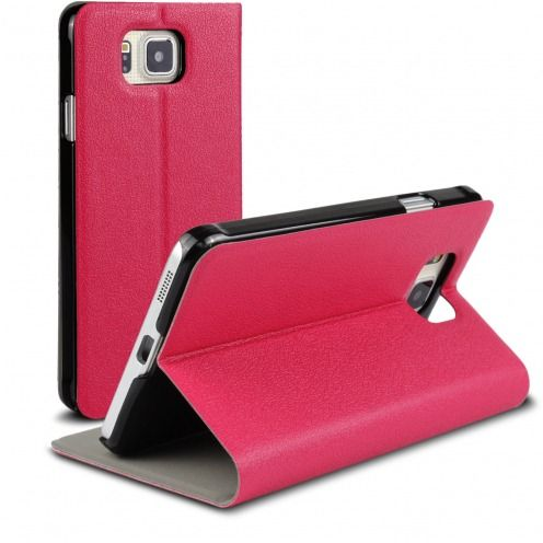 Slim Folio Smart Magnet Case for Galaxy Alpha Pink