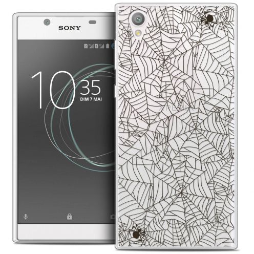 """Coque Crystal Gel Sony Xperia L1 (5.5"""") Extra Fine Halloween - Spooky Spider"""