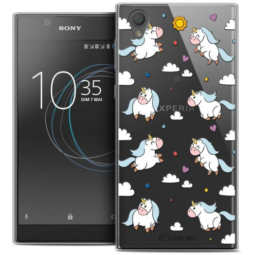 """Coque Crystal Gel Sony Xperia L1 (5.5"""") Extra Fine Fantasia - Licorne In the Sky"""