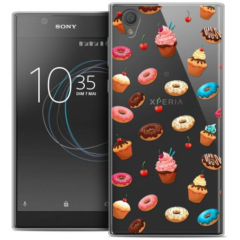 """Coque Crystal Gel Sony Xperia L1 (5.5"""") Extra Fine Foodie - Donuts"""