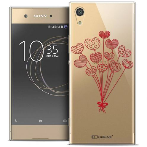 """Coque Crystal Gel Sony Xperia XA1 Ultra (6"""") Extra Fine Love - Ballons d'amour"""