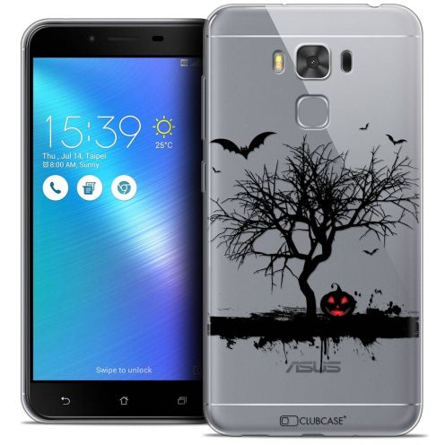 "Coque Crystal Gel Asus Zenfone 3 Max Plus ZC553KL (5.5"") Extra Fine Halloween - Devil's Tree"