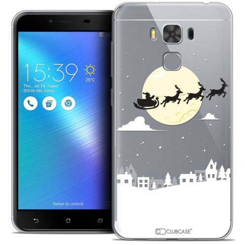 "Coque Crystal Gel Asus Zenfone 3 Max Plus ZC553KL (5.5"") Extra Fine Noël 2017 - Flying Stanta"