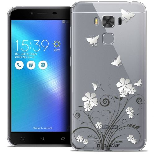 "Coque Crystal Gel Asus Zenfone 3 Max Plus ZC553KL (5.5"") Extra Fine Summer - Papillons"