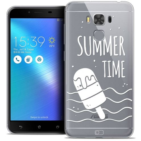 "Coque Crystal Gel Asus Zenfone 3 Max Plus ZC553KL (5.5"") Extra Fine Summer - Summer Time"
