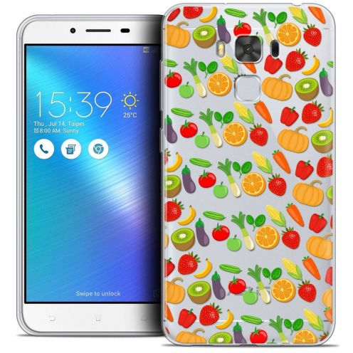 "Coque Crystal Gel Asus Zenfone 3 Max Plus ZC553KL (5.5"") Extra Fine Foodie - Healthy"
