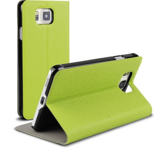 Slim Folio Smart Magnet Case for Galaxy Alpha Green
