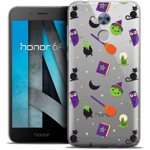 "Coque Crystal Gel Huawei Honor 6A (5"") Extra Fine Halloween - Witch Potter"
