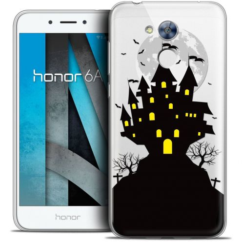 "Coque Crystal Gel Huawei Honor 6A (5"") Extra Fine Halloween - Castle Scream"