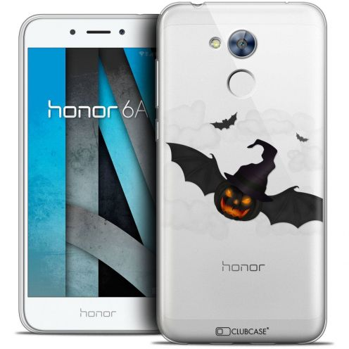 "Coque Crystal Gel Huawei Honor 6A (5"") Extra Fine Halloween - Chauve Citrouille"