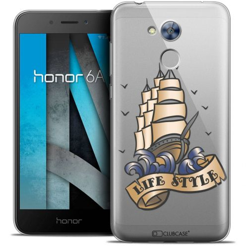 "Coque Crystal Gel Huawei Honor 6A (5"") Extra Fine Tatoo Lover - Life Style"