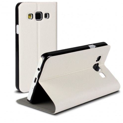 Slim Folio Smart Magnet Case for Galaxy A3 White