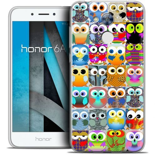 """Coque Crystal Gel Huawei Honor 6A (5"""") Extra Fine Claude - Hibous"""