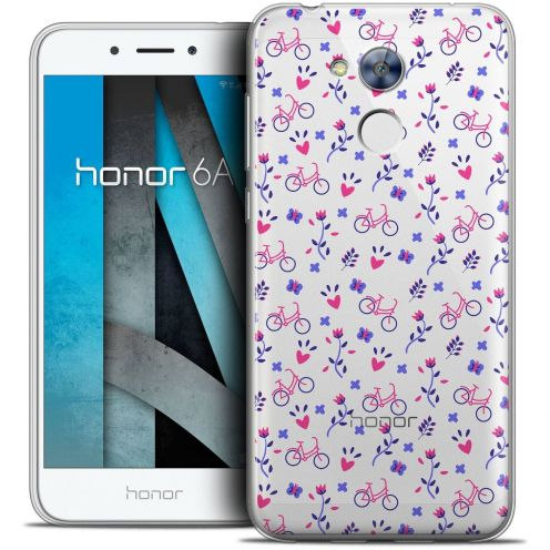 """Coque Crystal Gel Huawei Honor 6A (5"""") Extra Fine Love - Bicycle"""
