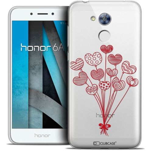"""Coque Crystal Gel Huawei Honor 6A (5"""") Extra Fine Love - Ballons d'amour"""
