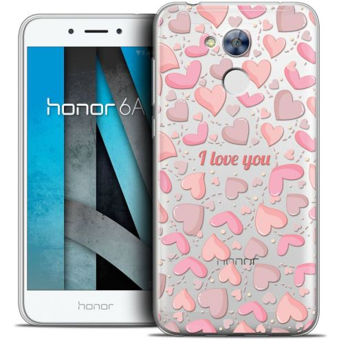 """Coque Crystal Gel Huawei Honor 6A (5"""") Extra Fine Love - I Love You"""