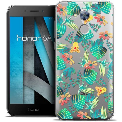 """Coque Crystal Gel Huawei Honor 6A (5"""") Extra Fine Spring - Tropical"""