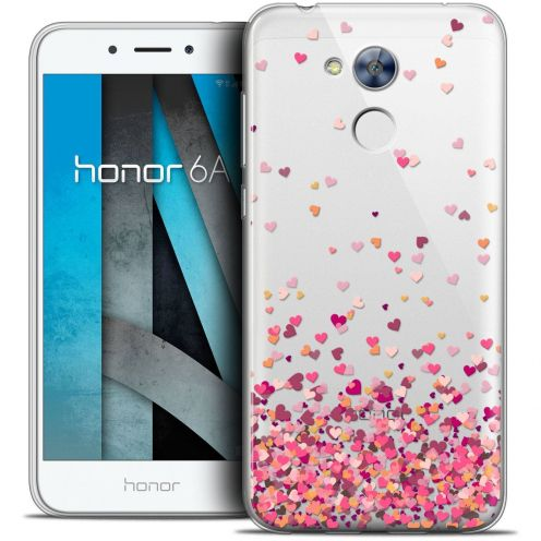"""Coque Crystal Gel Huawei Honor 6A (5"""") Extra Fine Sweetie - Heart Flakes"""