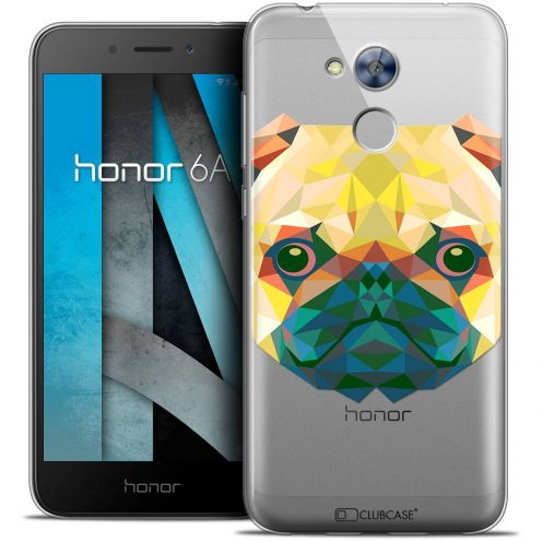 """Coque Crystal Gel Huawei Honor 6A (5"""") Extra Fine Polygon Animals - Chien"""