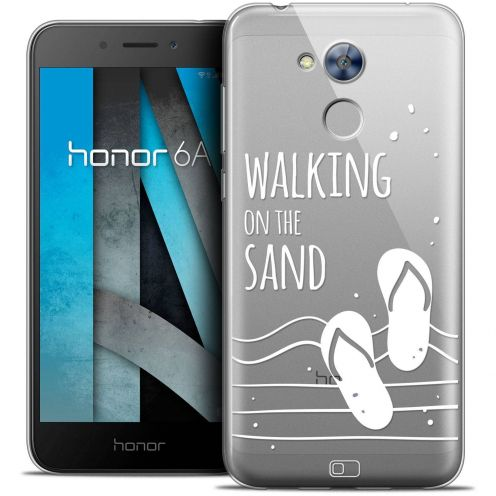 """Coque Crystal Gel Huawei Honor 6A (5"""") Extra Fine Summer - Walking on the Sand"""