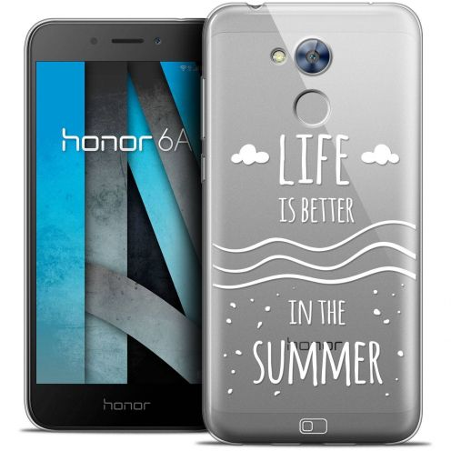 """Coque Crystal Gel Huawei Honor 6A (5"""") Extra Fine Summer - Life's Better"""