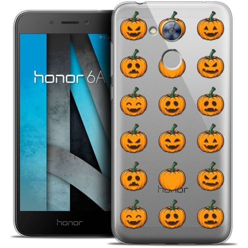 """Coque Crystal Gel Huawei Honor 6A (5"""") Extra Fine Halloween - Smiley Citrouille"""