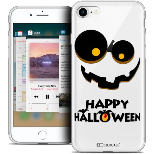 "Extra Slim Crystal Gel Apple iPhone 8 (4.7"") Case Halloween Happy"