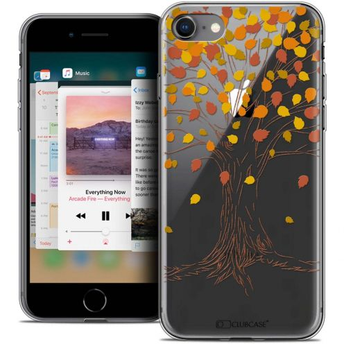 "Coque Crystal Gel Apple iPhone 8 (4.7"") Extra Fine Autumn 16 - Tree"