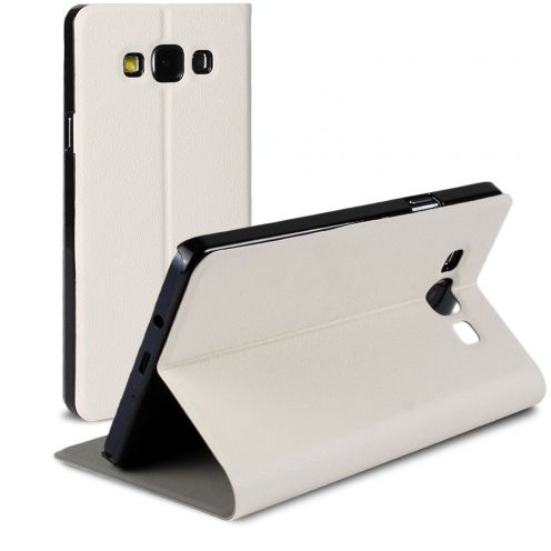 Slim Folio Smart Magnet Case for Galaxy A7 White